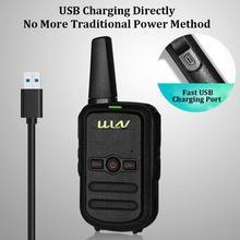 LumiParty Interphone Dual Band Handheld Two Way Ham Radio Communicator HF Transceiver Amateur Handy interphone r57