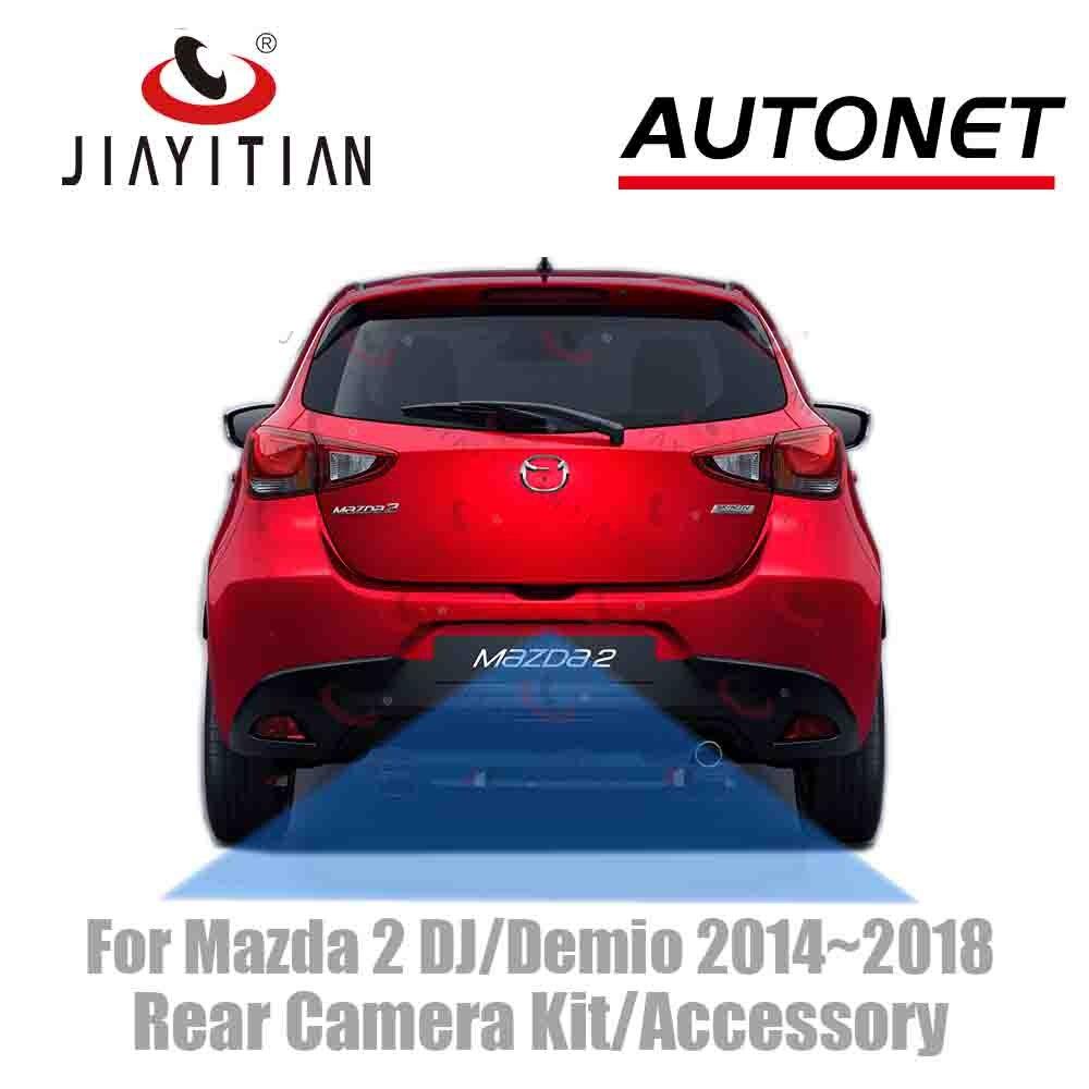JIAYITIAN For Mazda 2 DJ/Demio 2014 2015 2016 2017 2018 Original Factory Screen Adapter Cable Rear View Camera/kit Backup Camera