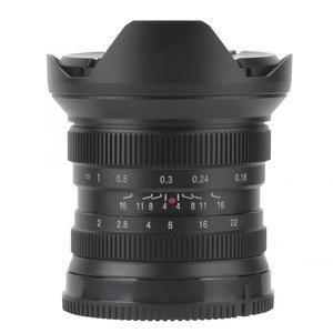 Image 3 - Brightin Star lente de enfoque Manual de Metal de 12mm f2.0 Super gran angular para Sony E, montaje Canon APS C Fuji, montaje FX, sin espejo