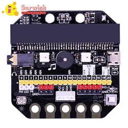 Основные: бит IO Плата расширения горизонтальный Тип Pinboard микродолото питона макетная плата адаптер объектива для камер Micro: бит