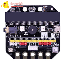 Basic:Bit IO Expansion Board Horizontal Type Pinboard Microbit Python Development Board For Micro:Bit for crystaljet printing machine spares seiko print head io board