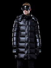 Men #8217 s Down Jacket Long Winter Coat Thick Warm Puffer Goose Down Jacket Men Clothes 2020 Hooded Plus Size Coats KJ3115 cheap REGULAR M1801M1HL013 Casual zipper Full Pockets NONE Thick (Winter) Poplin NYLON Grey goose down 300g Solid plumas hombre invierno
