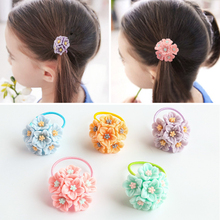 Children Headdress Cute Girl Princess Baby Beautiful Flower Small Circle not Hurt Hair Sweet Band