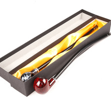 Long 41cm Smoking Pipe Tobacco Smoke Cigarette Gift Box Package for Boyfriend Father