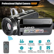 Full HD 4K 1080P Video Camera Handheld DV Professional Night Vision Anti-shake Digital Photo Camera