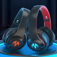 Gaming Headset Led-Earphones Gamer Wireless Bluetooth with Mic for Mobile/pc/Ps4