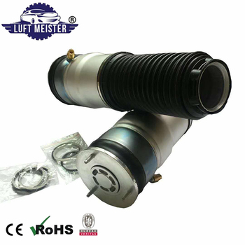 Pair Rear Left Right Air Suspension Spring Kit For BMW 7 F01 F02 Air Ride Shock Absorber 37126701675 37126701676 image