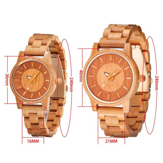 Shifenmei 2019 Couple Wristwatch Wood Watches Women Men Analog Quartz Fashion Watch for Couples Christmas Gifts erkek kol saati 5