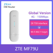 Desbloqueado ZTE MF79 4G150M Wingle 4G USB Modem Wi-fi LTE LTE USB dongle wifi carro PK Huawei E8372h-153 E8372h-608 e8372H-320