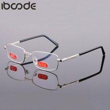 Iboode – lunettes de lecture à lentille optique, verres verts à haute définition, pour femmes et hommes, + 1 1.5 2 2.5 3 3.5 4 4.5 5 5.5 6