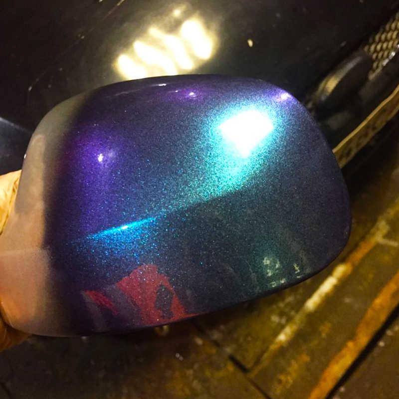 YB85 الحرباء تغيير لون الصباغ لطلاء السيارات الفنون الحرف البلاستيك الأظافر الديكور الاكريليك بودرة الألوان طلاء 10g