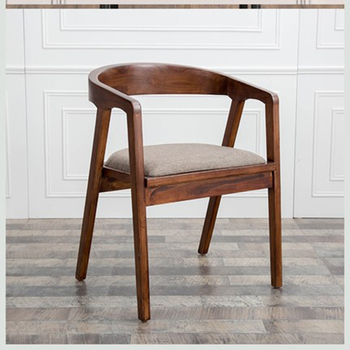 Dining chairs Nordic solid wood Chair home furniture dining room dining tables backrest armchair modern minimalist leisure chair nordic iron dining chair modern minimalist dining chair leisure chair desk chair