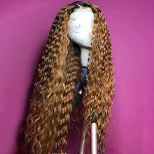 13X6 Lace Frontal Ombre T1B/27 Color 13*6 Lace Front Human Hair