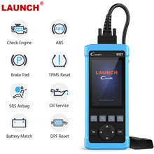 Launch CR8021 OBD 2 Automotive Scanner Oil Service BMS EPB ABS SRS Reset Auto OBD2 Multi Language Car Diagnostic Scan Tools(China)