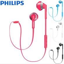 Philips Originele SHB5250 In Ear Draadloze Bluetooth Headset Opknoping Hals Sport Run Muziek Headset Oortelefoon Ios/Android Universele