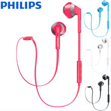 Philips original SHB5250 in-ohr drahtlose Bluetooth headset hängen hals sport laufen musik headset kopfhörer IOS/Android universal(China)