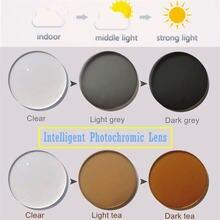 Интеллигентая (ый) фотохромными линзами компьютерные очки солнцезащитные