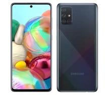 Samsung galaxy a71 a715fd 90% novo desbloqueado duplo sim telefones celulares 6.7