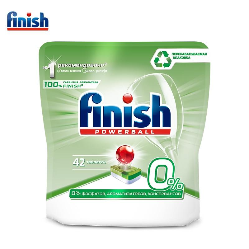 FINISH PowerBall Моющ Средство для посудомоечной машины 42 шт. бесфосфатные таблетки