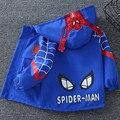 Куртка детская демисезонная с капюшоном и принтом «Человек-паук»