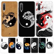 Coque de téléphone Xiaomi, étui Taiji Yin Yang pour Redmi Note 10 9 8 7 8A 7 7A 6A S2 8T 9S MI 9 8 CC9 Pro Lite