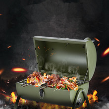 Barbecue-Stove Grill Patio Outdoor Bbq Picnic Portable Camping 3-5-People