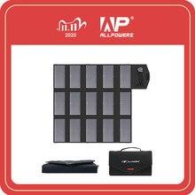 ALLPOWERS Panel Solar portátil de 100W, 18V, 12V, cargador de batería Solar plegable para ordenador portátil, teléfono móvil