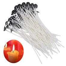 Candle Wick Smokeless Christmas-Party-Supplies Birthday Fast-Delivery Cotton 100PCS 9/15cm