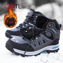 Трендовые зимние меховые плюшевые высокие ботинки cyytl Утепленные