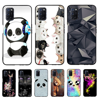 Soft TPU Case For OPPO A52 Cases Cartoon Painting Soft TPU Silicone Phone Back Cover For OPPO A92 A72 2020 Case Shells Capa plating tpu phone case for oppo reno 3 pro soft silicone upscale phone cases mobile phone accessories