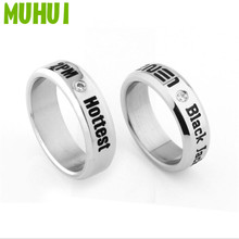 1pc Kpop TVXQ 2NE1 2PM Nichkhun Ring For Women With Chain Free  Size 7# 19422 tvxq special live tour t1st0ry in seoul kpop album