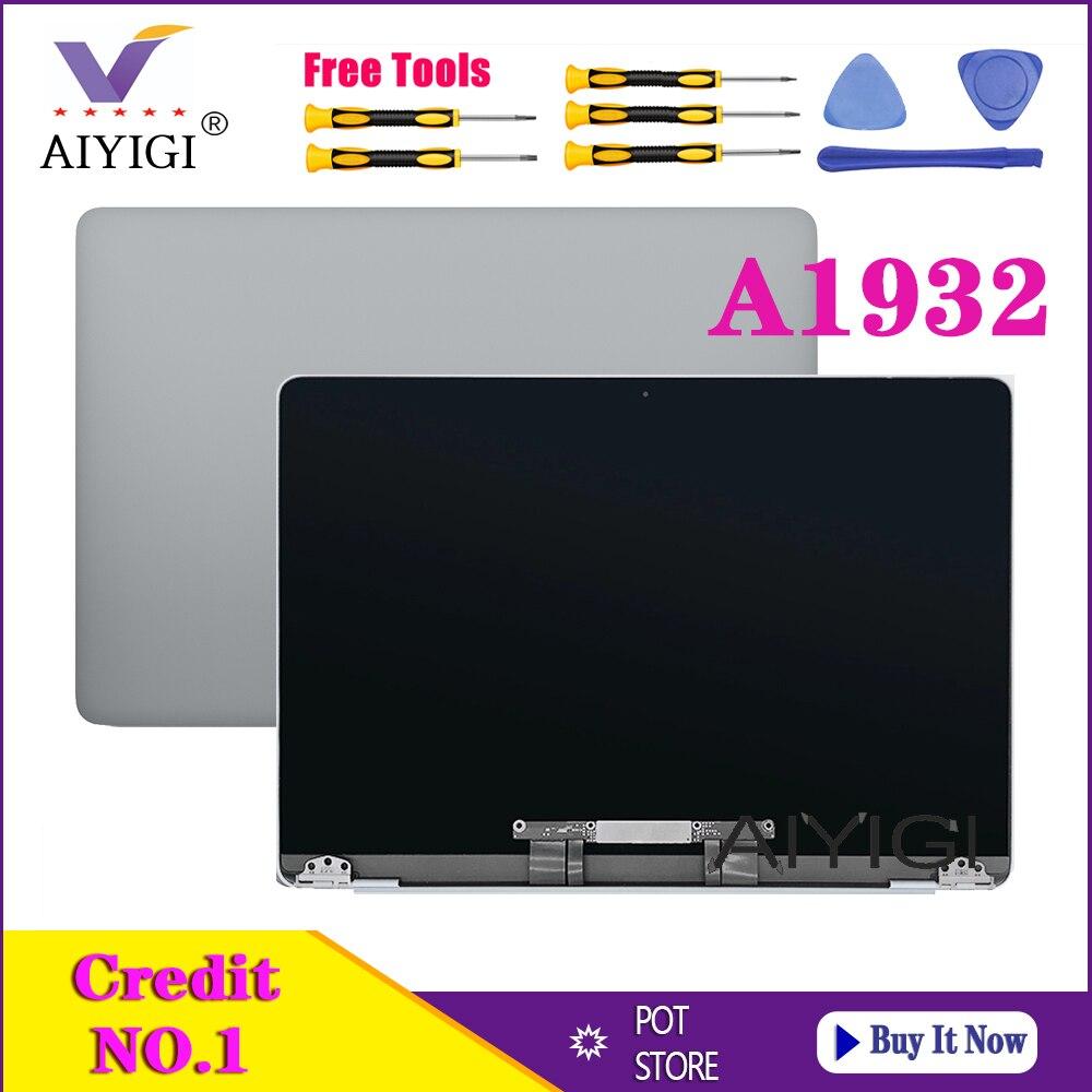 Оригинальный протестированный Новый светодиодный экран для ноутбука, ЖК-дисплей в сборе для Macbook Air Retina 13,3 дюйма A1932 EMC 3184 MRE82, конец 2018 года