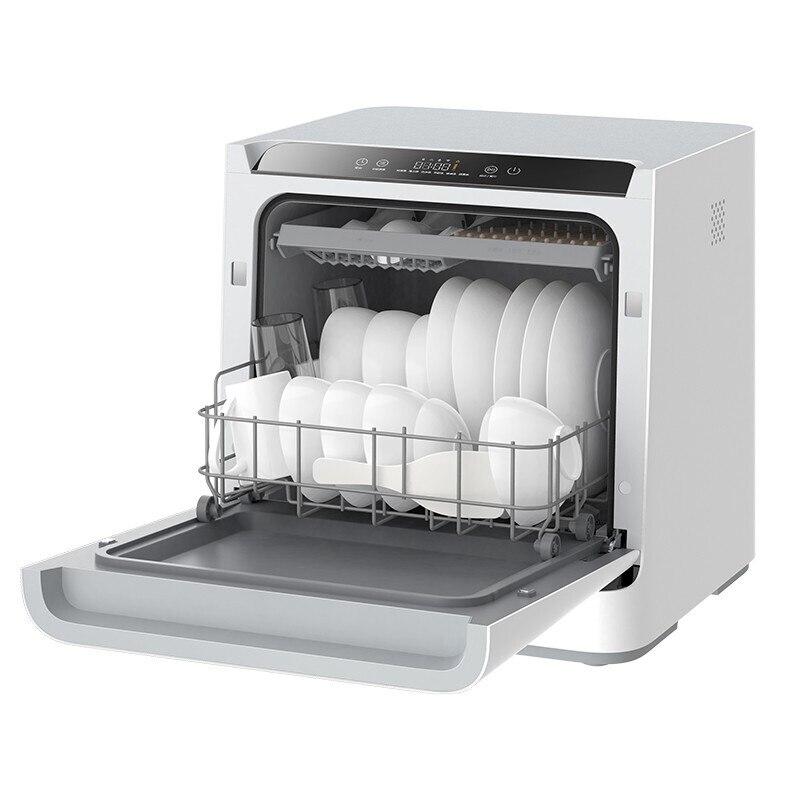 220 В домашние 4 комплекта автоматического столешницы для мытья посуды без необходимости установки интеллектуальное управление через Wi-Fi пр...