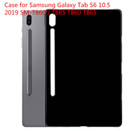 10pcs/A Lot Case for Samsung Galaxy Tab S6 10.5 2019 SM T860 / T865 T860 T865 Tablet Cover TPU Soft Shockproof Funda Capa Coque