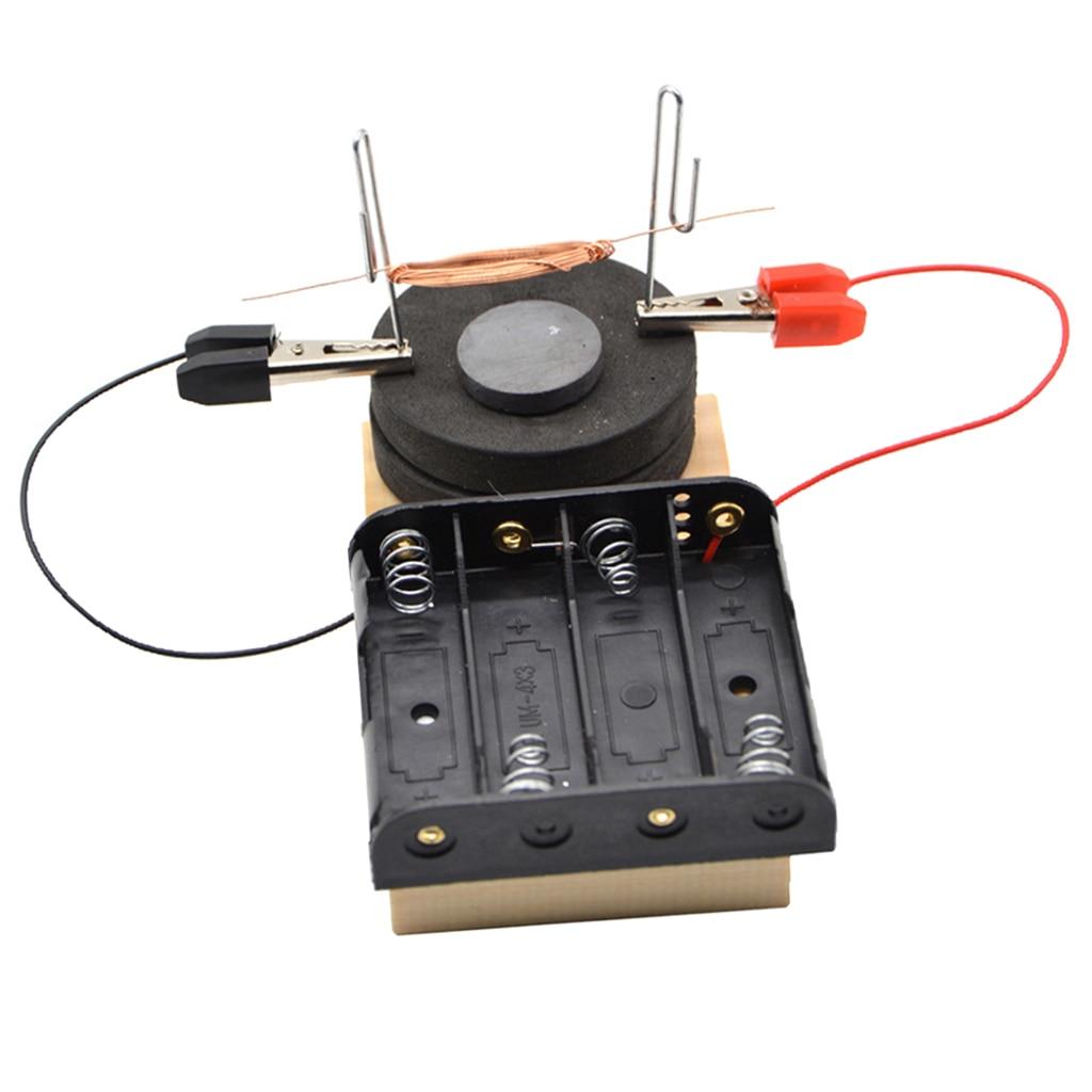 Enfants de Science Physique Expérience Pédagogique Kit de BRICOLAGE Assemblage Moteur Électrique Modèle Jouet