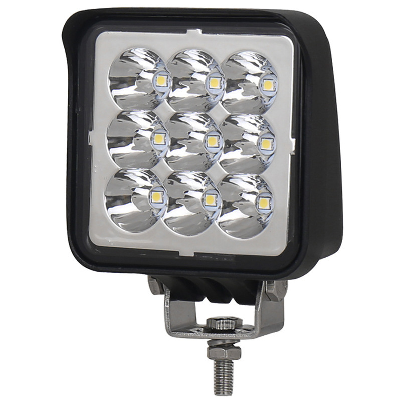 Liweida LED Spotlight Floodlight Automobile Motorcycle Square Auxiliary Lighting Small Lamp 27W Work Light