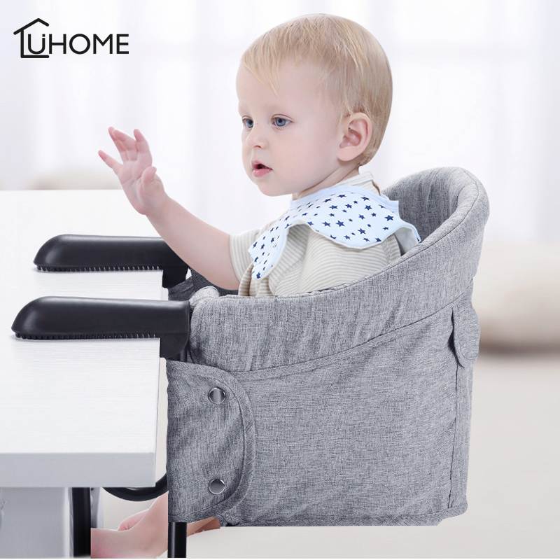 Portable Children Chairs Foldable Infant Baby Feeding High Chair Booster Seat Momy Bag Kids Dining Chair Safety Seat Kids Eating