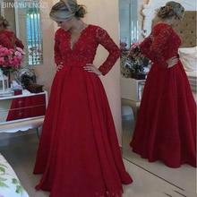 2021 Red Lace Mother of The Bride Dresses for Weddings Beaded a Line Evening Groom Godmother Dresses Vestido De Madrinha Origin