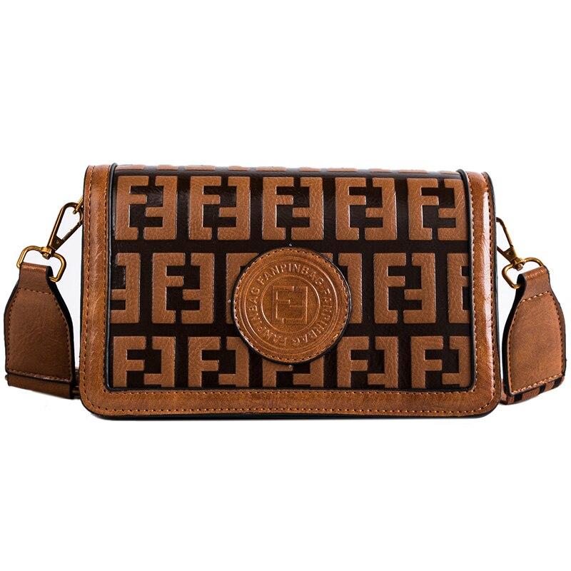 Top Brand Designer Oil Skin Women Messenger Bags Crossbody Soft PU Leather Shoulder Bag High Quality Fashion Women Bags Handbags