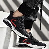 Sapatos masculinos 2019 outono novo estilo atlético sapatos de estilo coreano tendência casual board sapatos masculino ginásio luz amortecida sapatos|Sapateiras e organizadores de sapato| |  -