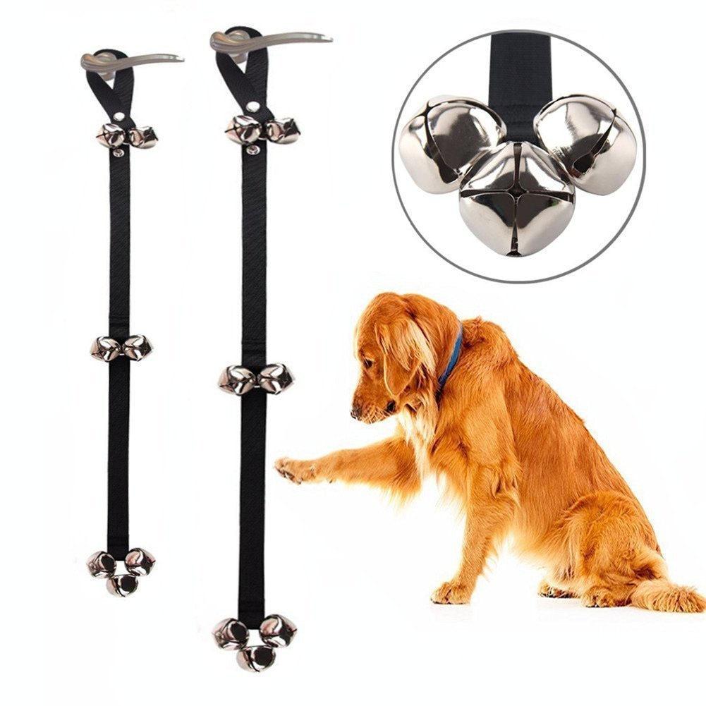 Hot Selling Pet Doorbell Cat Teaser Toy Dog Nursing Alarm Doorbell Pet Bell Lanyard