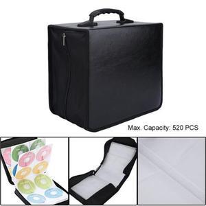 Image 2 - Portable CD DVD Wallet Holder Bag Case Album Organizer Media Storage Box