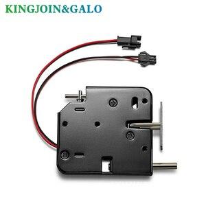 Image 4 - Oem電磁ロックdc 12V1.5Aスーパーマーケットインテリジェントロッカー電子ロックアクセス制御電気錠メールボックスロック