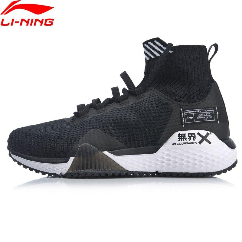 Li Ning Frauen KEINE GRENZEN Training Schuhe Kissen Mono Garn Atmungsaktive Futter Cloud Sport Schuhe Turnschuhe AFJP006 YXX049 - 3