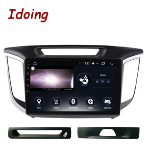 "Image 2 - Idoing 10.2""Car Android Radio Multimedia Player For Hyundai Creta IX25 ix25 2014 4G+64G Octa Core GPS Navigation no 2din dvd"