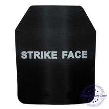 1pc 25*30cm NIJ IV Bulletproof Plate Against AK 47 Steel Armor Ballistic Plate For Military Tactical Bulletproof Vest