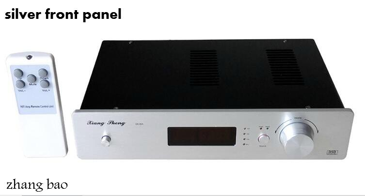 Télécommande XiangSheng DAC-06A AK4495 Tube DAC Balance XMOS HD carte son extérieure ampli casque DAC06A