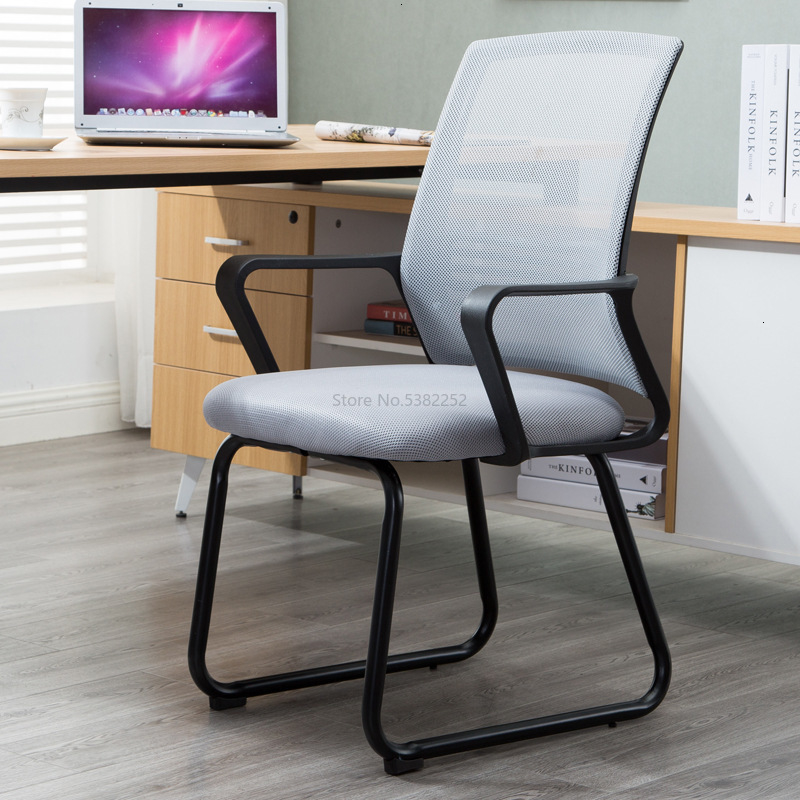 Office Chair Computer Chair Staff Meeting Guest Home Dormitory Bow Shelf Chair Mahjong Bench Chess Room Chair Net Chai