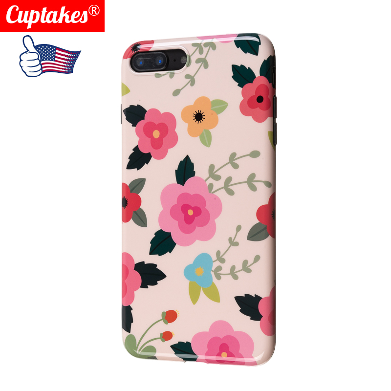 <font><b>Sexy</b></font> Floral Phone <font><b>Case</b></font> For Apple <font><b>iPhone</b></font> <font><b>7</b></font> 8 Plus 6 6S Lace Flower IMD Soft Silicon <font><b>Cases</b></font> Back Cover For <font><b>iPhone</b></font> 11 X XS XR XS Max image