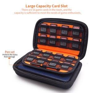 Image 3 - EVA Lagerung Zip Fällen reisetaschen für Nintendo Neue 3DS XL hard cover Pouch für spiel karten power bank Ladegerät konsole Zubehör
